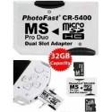 Adaptador Dual Micro Sd P/pro Duo