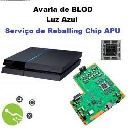 Serviço de Reparação Luz Azul Consola PS4