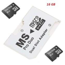Cartão de Memoria Pro Duo para PSP