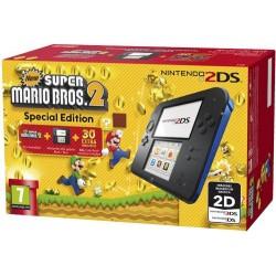 Consola Nintendo 2DS (Azul/Preto) + New Super Mario Bros. 2