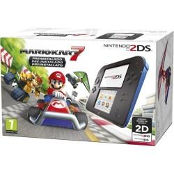 Consola Nintendo 2DS (Azul/Preto) + Mario Kart 7