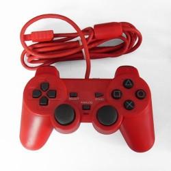 Comando Dual Shock 2 Vermelho para PS2