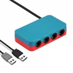 Adaptador de Comandos Gamecube para Switch / Wii u