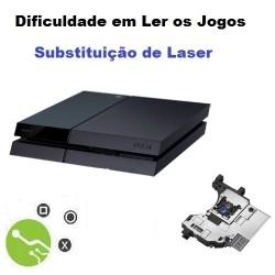Serviço de Substituição Laser Consola PS4