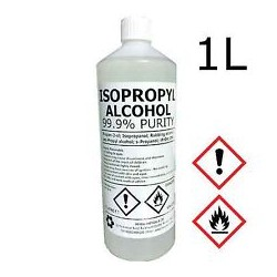 Álcool Isopropílico (Isopropanol) p/Limpeza 1L