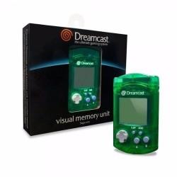 VMU Verde Transparente Sega Dreamcast