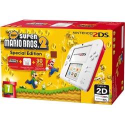 Consola Nintendo 2DS ( Vermelha / Branca ) + New Super Mario Bros. 2