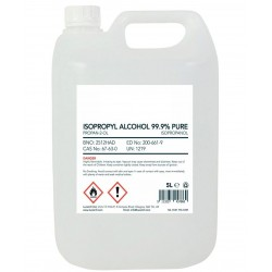 Álcool Isopropílico (Isopropanol) p/Limpeza 5L