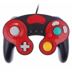 Comando Gamecube Preto e Vermelho ««Não Oficial»»
