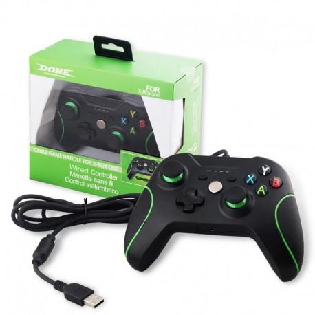 Comando com Fio Preto para Xbox One e PC