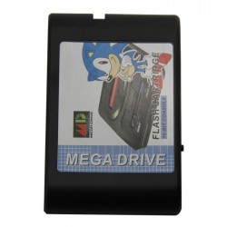 Megadrive/Genesis game flash cartridge+8G SD card