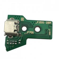 Conector de Carga 12 Pin JDS-055 para Comando Dualshock 4