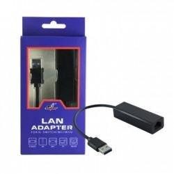 Adaptador de Internet RJ45 p/ USB3.0 para Nintendo Switch